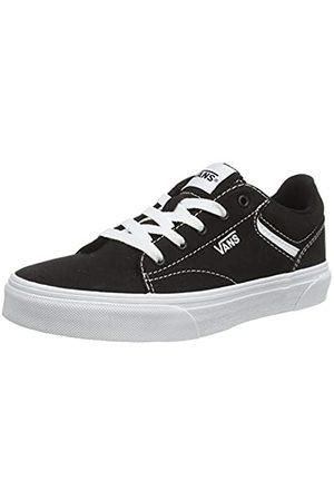 Vans Unisex-Kinder SELDAN Sneaker, ((Canvas) Black/White 187)