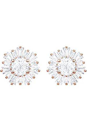 Swarovski Sunshine Ohrringe für Frauen, weißes Kristall