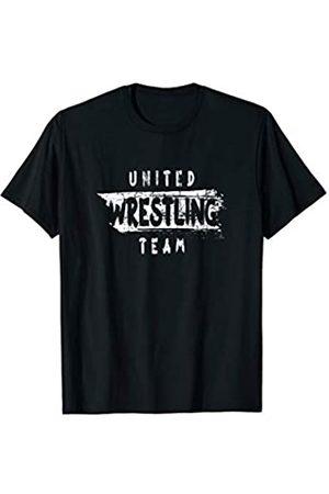 Ringen T-Shirt Wrestling Shirt Ringerwelt Wrestler United Wrestling Team. Ringerverein Tshirt. Ringen Training T-Shirt