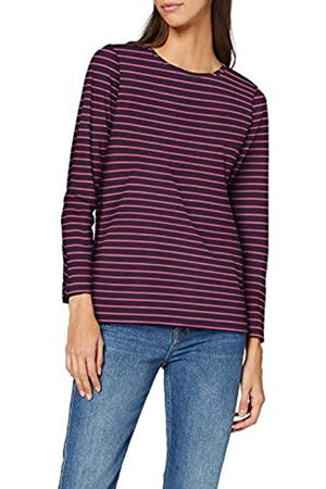 People Tree Peopletree Damen Felicity Stripe Top Langarmshirt