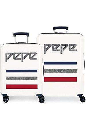 Pepe Jeans Taking Off Koffer-Set 70 centimeters 119.4 Beige