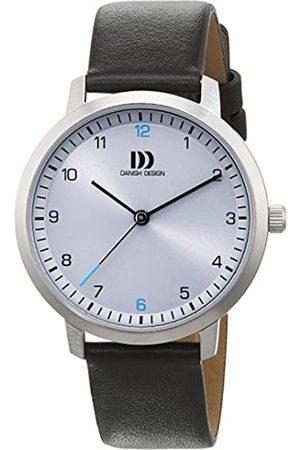 Danish Design Damen Analog Quarz Uhr mit Leder Armband 3324601