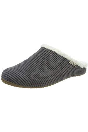 Living Kitzbühel Mädchen Cordpantoffel Plüsch mit Fußbett Pantoffeln, (Phantom 0685)