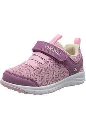 Viking Unisex-Kinder Veil Sneaker, Pink (Pink/Violet 921)