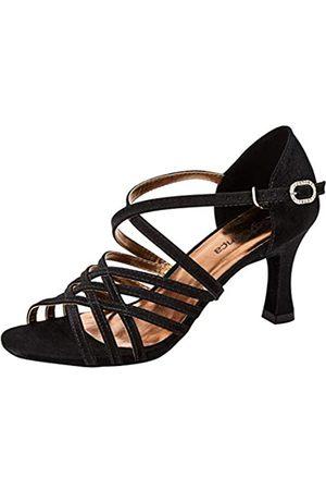 So Danca Damen Bl178 Standard- & Latintanzschuhe, (Black Black)