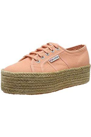 Superga Damen 2790-COTROPEW Sneaker, (Peach Lt Coral J74)