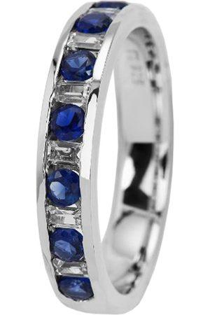 Burgmeister Jewelry Damen-Ring 925 Sterling Silber rhodiniert Zirkonia Gr. 54 (17.2) JBM2015-111-17