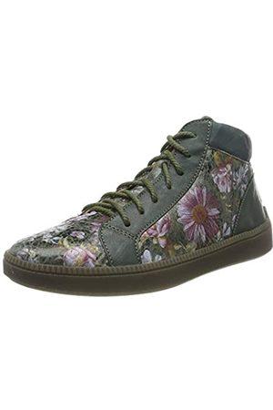 Think! Damen TURNA_585047 Hohe Sneaker, Mehrfarbig (Oliv/Kombi 63)