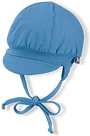 Sterntaler Ballonmütze für Jungen mit Bindebändern und Ohrenklappen, Alter: 6-9 Monate