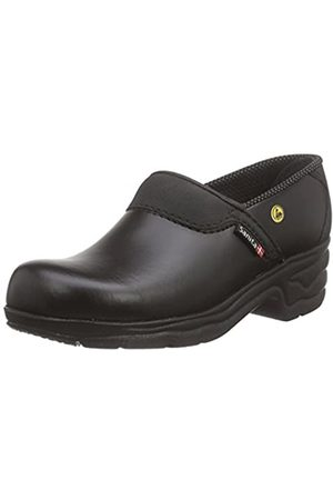 Sanita Workwear Unisex-Erwachsene Closed-OB Clogs, (Black 2)