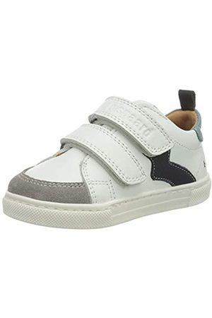 Bisgaard Jungen Karlo Sneaker, Mehrfarbig (White/Mint 2007)