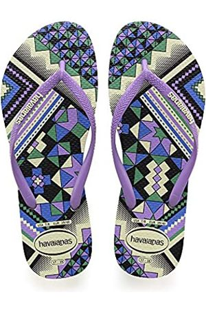 Havaianas Damen Slim Tribal Zehentrenner, Mehrfarbig (Apple Green 2532)