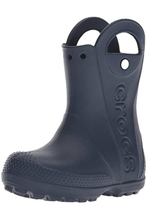 Crocs Unisex-Kinder Handle It Rain Boot Kids 12803-410 Gummistiefel, (Navy