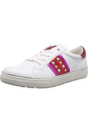 TOM TAILOR Mädchen 6971707 Sneaker, Mehrfarbig (White-Red-Pink 02603)