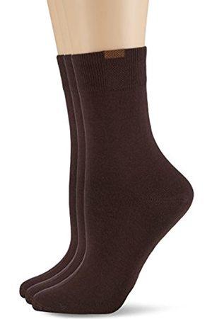 Nur Die Damen Passt Perfekt 3er Socken, Blickdicht