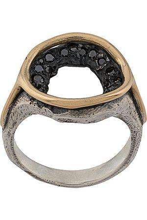 TOBIAS WISTISEN Runder Ring mit Kristallen