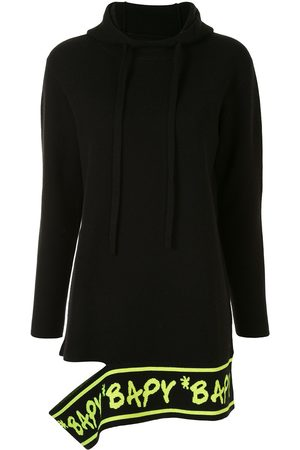 BAPY BY *A BATHING APE® Damen Strickpullover - Kapuzenpullover mit Cut-Out
