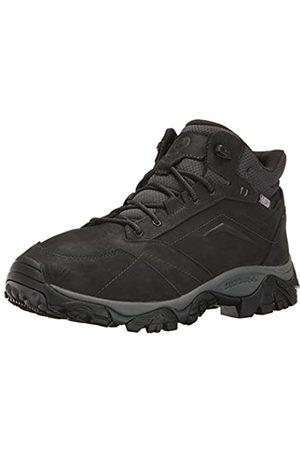 Merrell Moab Adventure Mid Waterproof, Homme Chaussures de Randonnée Hautes, (BLACK)