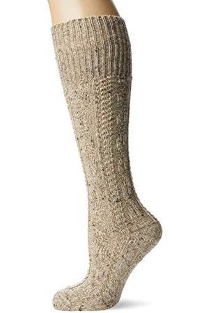 LUSANA Jungen Kinder-Kniebundstrumpf Loden Tweed Kniestrümpfe