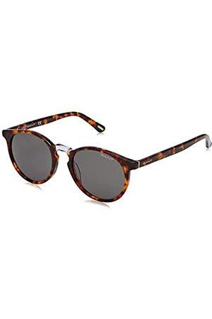GANT Herren GA7110 Sonnenbrille, (Havana/Other/Green)