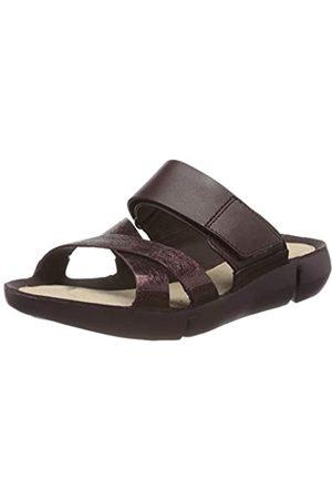 Clarks Damen Tri Primrose Sneaker, (Burgundy Intrest Burgundy Intrest)