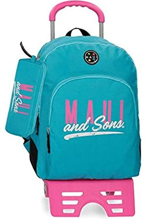 Maui & Sons Maui and Sons Hawai Schulrucksack 44 Centimeters 19.600000000000001 (Verde)