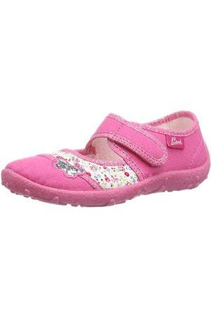Beck Mädchen Papillon Hausschuhe, Pink (pink 06)