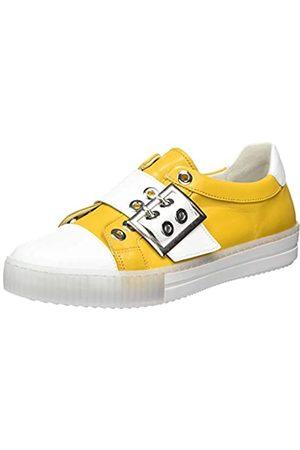 Gabor Shoes Damen Jollys' Sneaker, (Mango/Weiss 23)