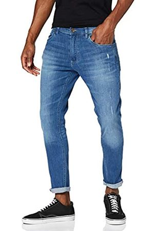 Urban classics Herren Skinny Ripped Stretch Denim Pants Hose