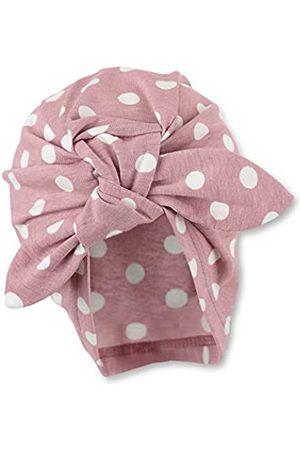 Sterntaler Knotenmütze für Mädchen mit Punktemuster, Alter: 12-18 Monate, Größe: 49