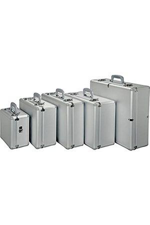 Alumaxx Multifunktionskoffer Stratos I, Piloten Koffer aus Aluminium, Aktenkoffer in