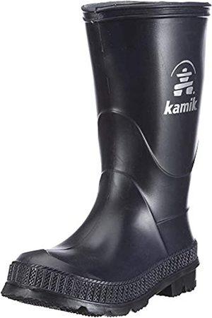 Kamik STOMP, Unisex-Kinder Kurzschaft Gummistiefel, (NAK_NAVY/BLACK SOLE)