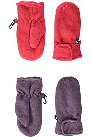 Name it Mädchen NMFMAR Fleece 2P Mitten FO Handschuhe