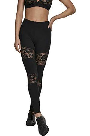 Urban classics Damen Ladies Laces Inset Leggings L