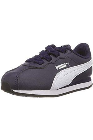 Puma Unisex-Kinder Turin II AC Inf Sneaker, Peacoat White