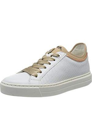 ARA Damen COURTYARD Sneaker, (Weiss, Rosegold/Puder 08)