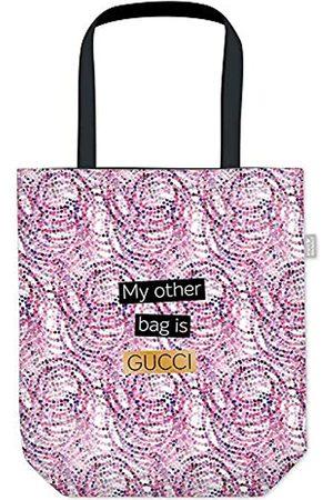 Grafik Werkstatt Einkaufstasche Damen mit lustigem Spruch| Shopping-Bag faltbar | leichte Tasche |