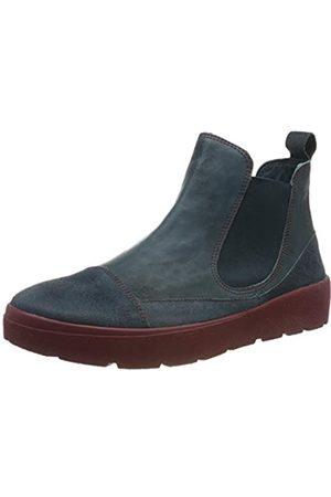 Think! Damen DRUNTA_585090 Chelsea Boots, (Atlantic/Kombi 88)