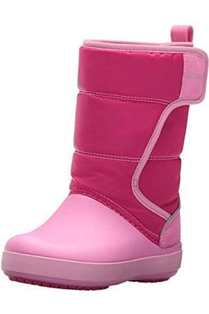 Crocs Unisex-Kinder Schneestiefel Schneestiefel Lodgepoint Snow Boots, Pink (Candy Pink/party Pink)
