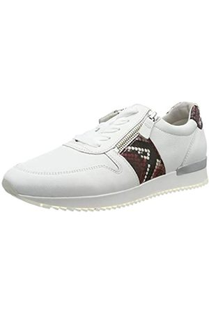 Gabor Shoes Damen Jollys Sneaker, (Weiss/Rubin 25)