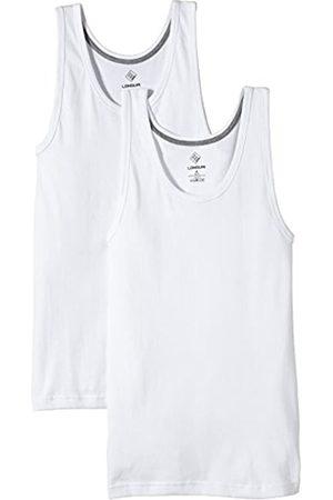 Nur Der Herren Unterhemd 827767/LONGLIFE Doppelpack, Einfarbig