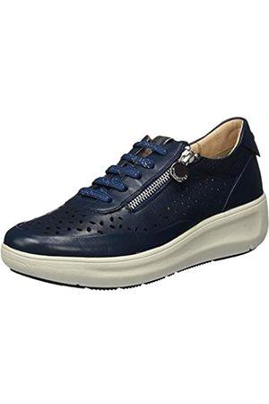 Stonefly Damen Rock 10 Nappa Sneaker, (Black 000)
