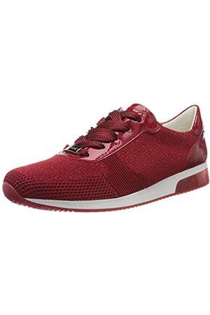 ARA Damen LISSABON Sneaker, -Metallic, Rosso 07)