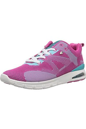 British Knights Damen DEMON Sneakers, Pink (Fuchsia/Turquoise 03)