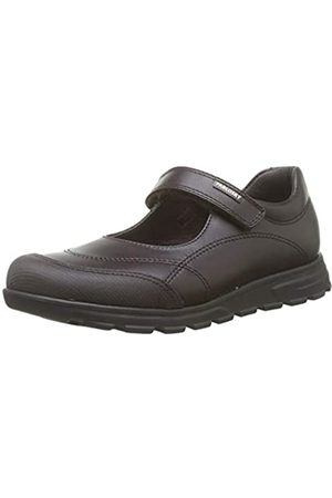 Pablosky Unisex-Kinder 334290 Sneakers, (Marron Marrón)