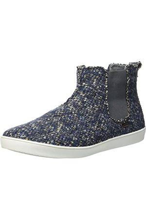 Living Kitzbühel Herren Chelsea Boot Tweed Hohe Hausschuhe, (Denim 550)