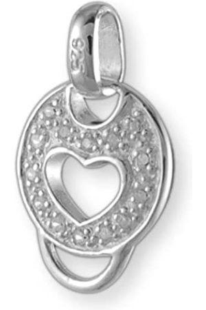 Melina Damen-Charm Basisanhänger Zirkonia 925 Sterling Silber 1800329
