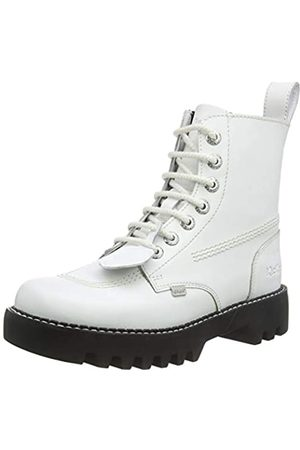 Kickers Damen Kizziie Higher Stiefeletten, (White WHT)