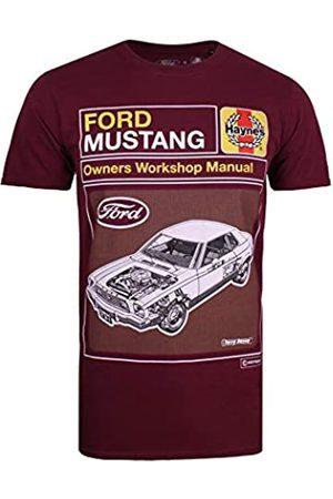 Tom Ford Herren Haynes X Mustang Schematic T-Shirt