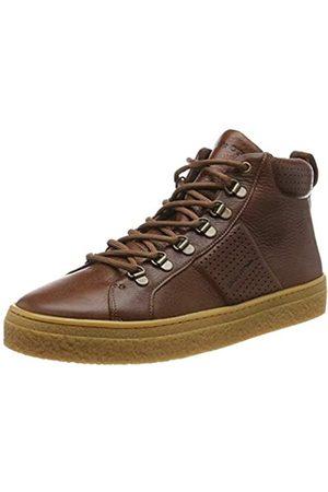 Marc O' Polo Herren 90825453502103 Hohe Sneaker, (Cognac 720)